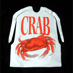 Disposable Crab Bib